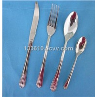 Disposable Aluminum Plated Plastic Cutlery