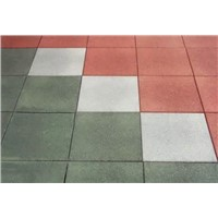 Durability and comfortable beautiful nice playground rubber flooring