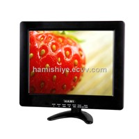 Featured 12.1 inch touch screen lcd monitor with VGA/AV for touch control system