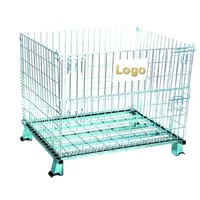 Folding wire mesh container (HT-C1)