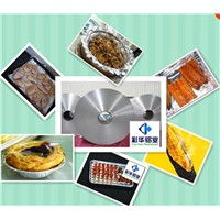 Food soft packing aluminum foil
