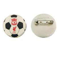 Football badge/t button badge with pin