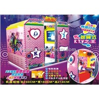 Game machine MTV Karaoke equipment machine coin operated vending machine