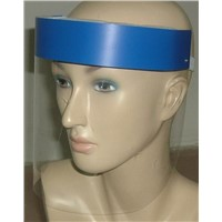 Head wear anti fog face shield