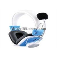 Headset computer with telephone function