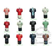 Heat transfer printing neoprene sport water bottle cooler for football team