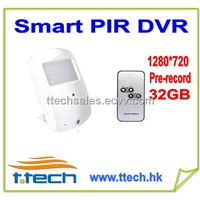 Hidden Mini PIR Case Smart PIR Camera DVR Mini DVR Spy DVR