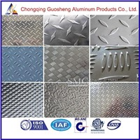 High quality tread aluminum sheet of checker/diamond sheet 3003/5005//5182/decorative aluminum sheet