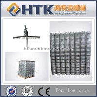 High tensile hinge joint fence