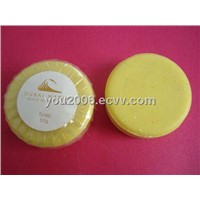 Hotel Soap/hand soap/wash soap/facial soap/bath soap --transparent pleated wrapper