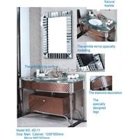 JFY Stainless Steel Bathroom Cabinet 4D-11