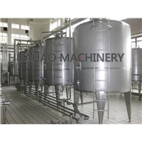 Jacketed ice cream aging tank