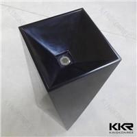KKR Wholesale acrylic solid surface bathroom basin/artificial waterfalls wash basin