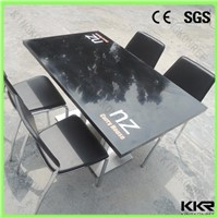 KKR dining table set , solid surface tables and chairs