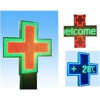 LED Cross Sign