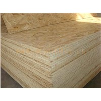 Laminated OSB (oriented strand board) in sale size 4*8