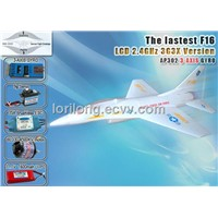 MODEL airplane F16 Brushless LCD 2.4GHz with 3G3X from SKYARTEC RC