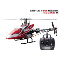 MODEL helicopter WASP X3V 3AXIS FBL LCD 2.4GHz RTF from SKYARTC RC