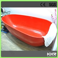 Made in China freestanding bath tub solid surface bathtub freestanding bath