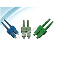 Optical fiber connector  -- SC/APC DX connector