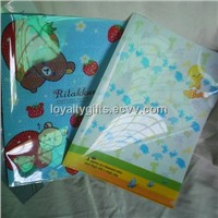 PP L shape file folder A4 size