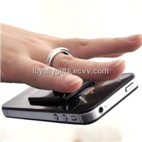 Plastic finger ring holder ring holder for mobile phone mobile phone ring holder