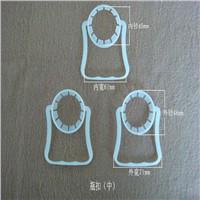 Plastic handles for handbags