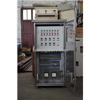 Power transformers cooling system automatic control cabinet