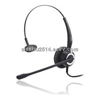 Professional call center headset one ear or Binaural with good price