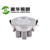 Recessed ceiling lamp office/market/cabinet down light warm white popular 5W/7W ce led downlight