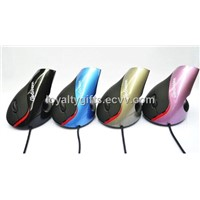 Retail wired vertical mouse Superior Ergonomic Design mice optical usb health mouse
