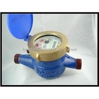Rotary vane wheel dry-dial magnet-drive hot water meter HTY-15E
