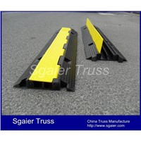 Rubber Safety Cable Mats Cable Ramp for Sale Cable Protector Hose Ramp