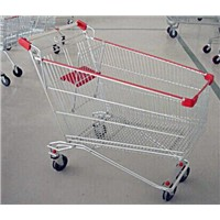 Russian style supermaket shopping trolley HT-R125