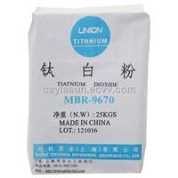 Rutile Type Titanium Dioxide TiO2 Grade:MBR9670