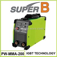 Single phase portable arc welding machine