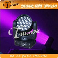 (TH-114) 19pcs *12w RGBW Osram LED moving head with zoom