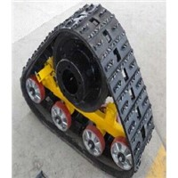 The popular and good price rubber track system for vehicles