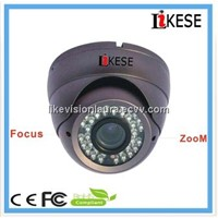 Thermal camera metal housing purple color 36leds vandalproof dome camera