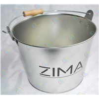 Tinplate Ice Bucket,Tinned beer barrel,Handle Ice Bucket for bar/hotel