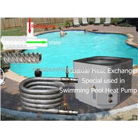 Titanium Refrigerant Water Heat Exchangers for Swimming Pool Heat Pump