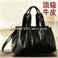 Top quality 2014 hot seller lady handbags fashion simple leather women bag