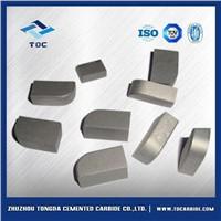 Tungsten carbide brazed inserts