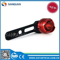 Ruby Waterproof LED Bike Warning Light taillight