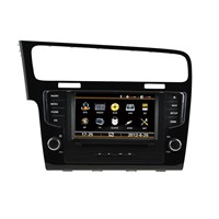 VW GOLF 7 dvd player complete unit