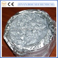 White fine aluminum paste for plastic coating
