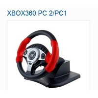 XBOX360 PC 2/PC1 steering wheel supplier