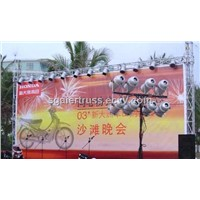 Aluminium Background Truss for Logo Poster