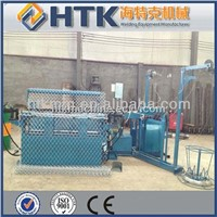 automatic chain link fence making machine