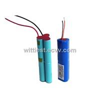 bike lights lithium batteries,flashlight rechargeable battery, 18650 battery packs